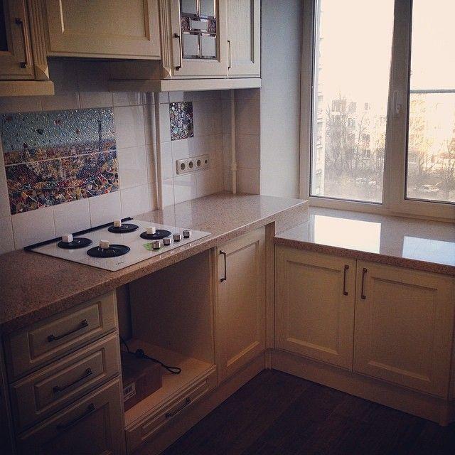 Ремонт кухни 6 кв. м: фото, идеи, варианты ремонта ...