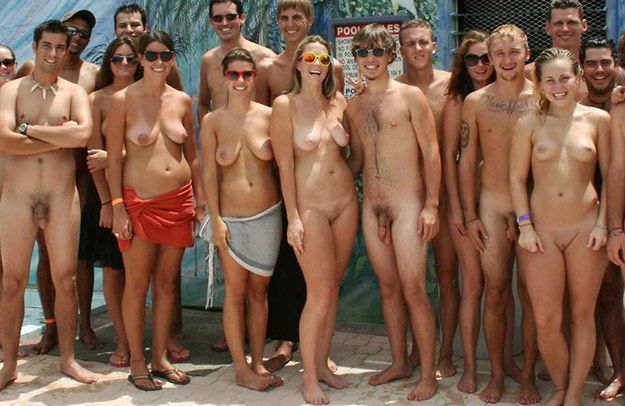 Family nudist resorts fotos