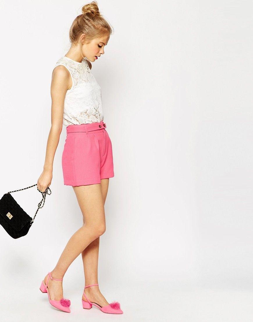 Shorts Rosas Asos