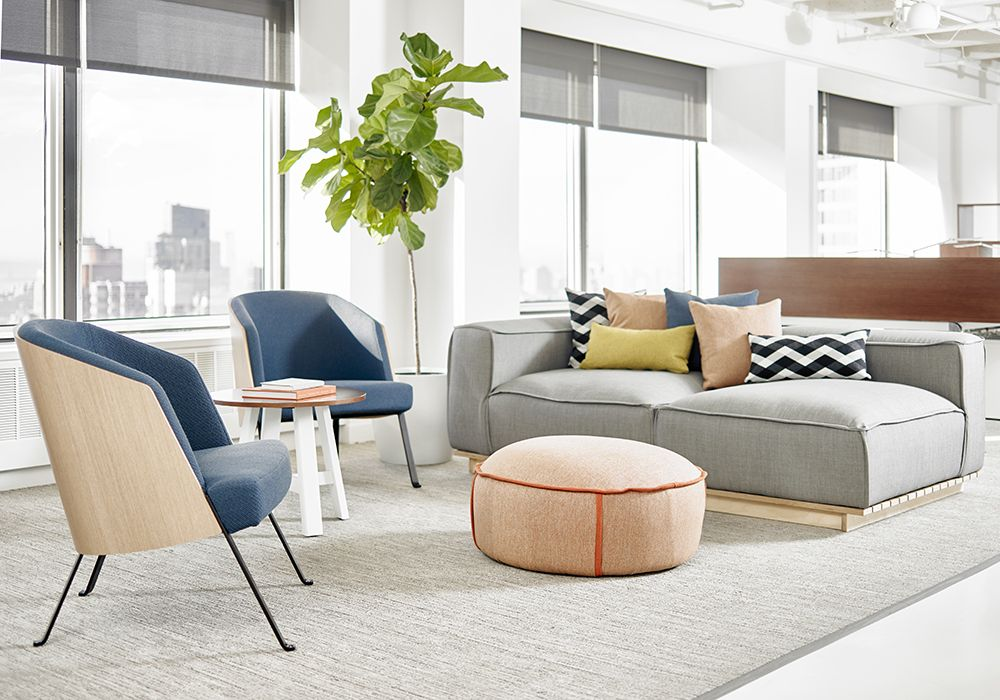 Ofs Brands New York Showroom Hinchada Modular Lounge Office