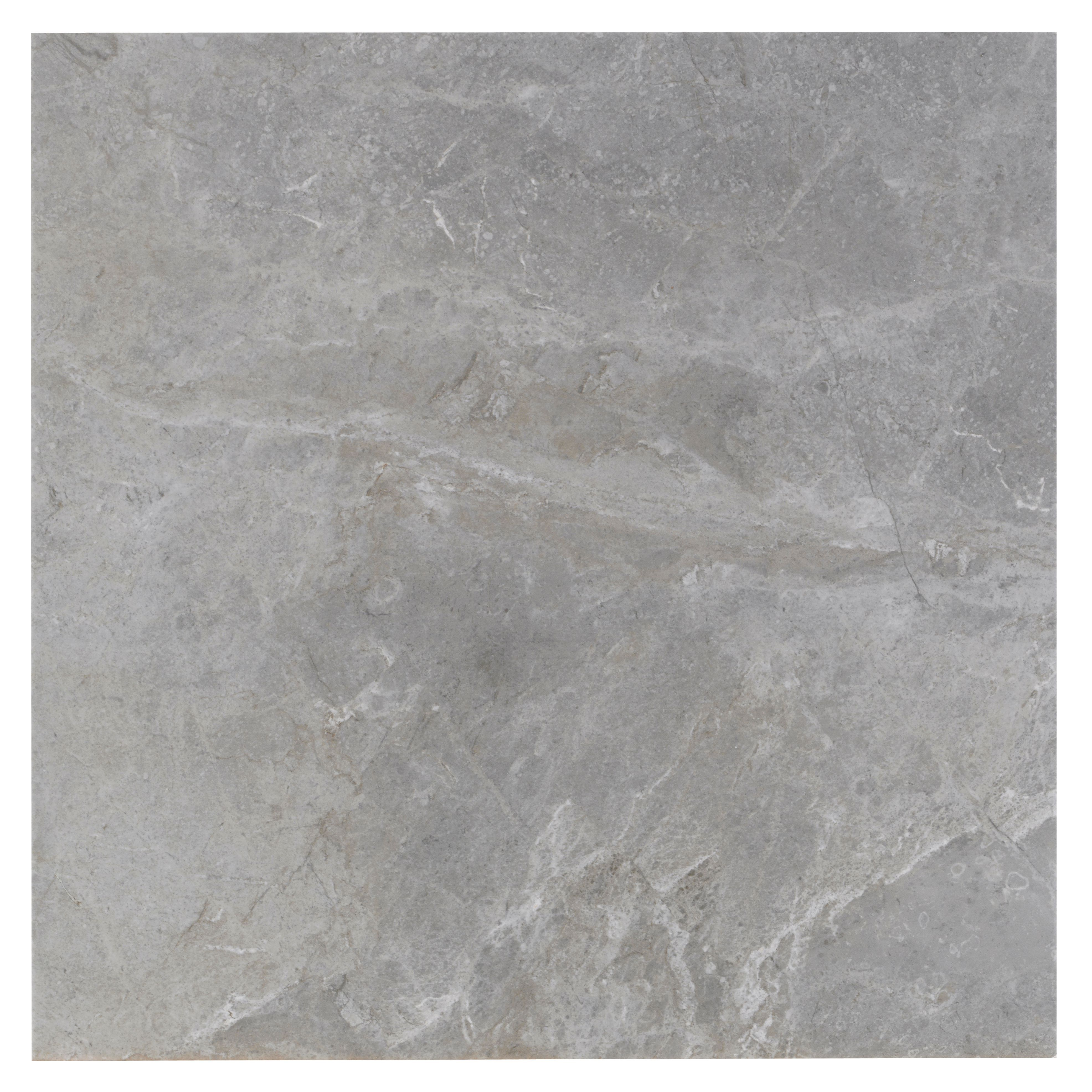 Urban Cement Grey Stone Effect Ceramic Wall Floor Tile: Burlington Limestone Pebble Riven Stone Effect Ceramic
