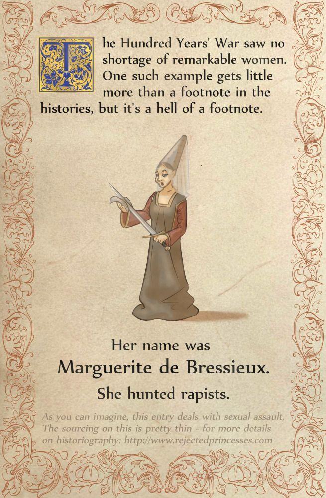 Rejected Princesses — Marguerite de Bressieux: Rapist Hunting Black... #history