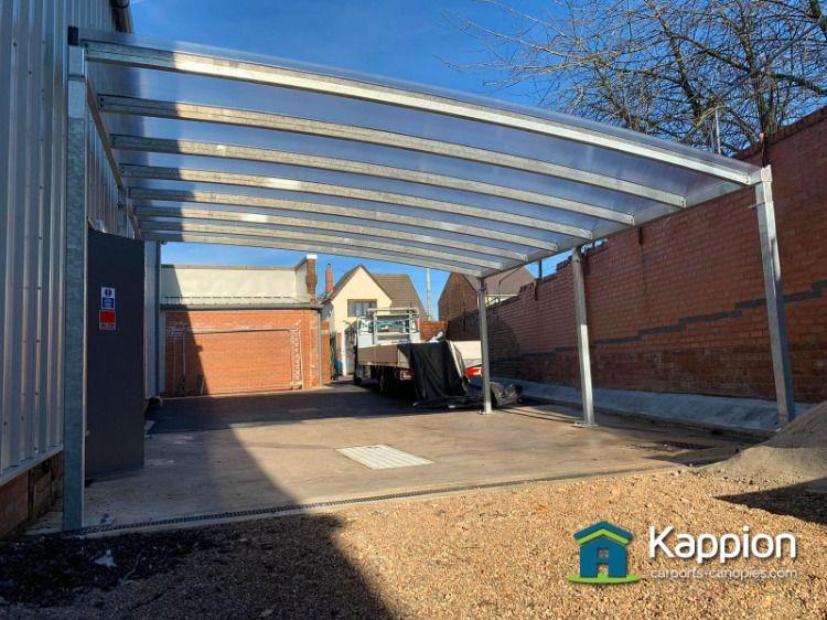 Galvanised Car Valet Structure Carport Canopy Canopy Design Canopy
