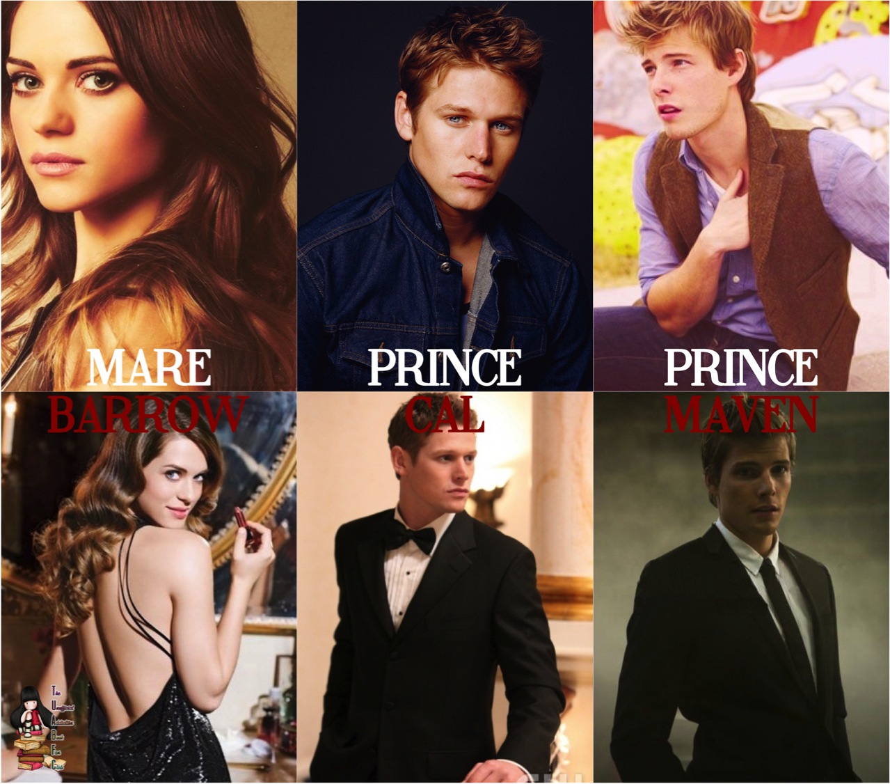 My dream cast for Red Queen (Red Queen Trilogy 1) by