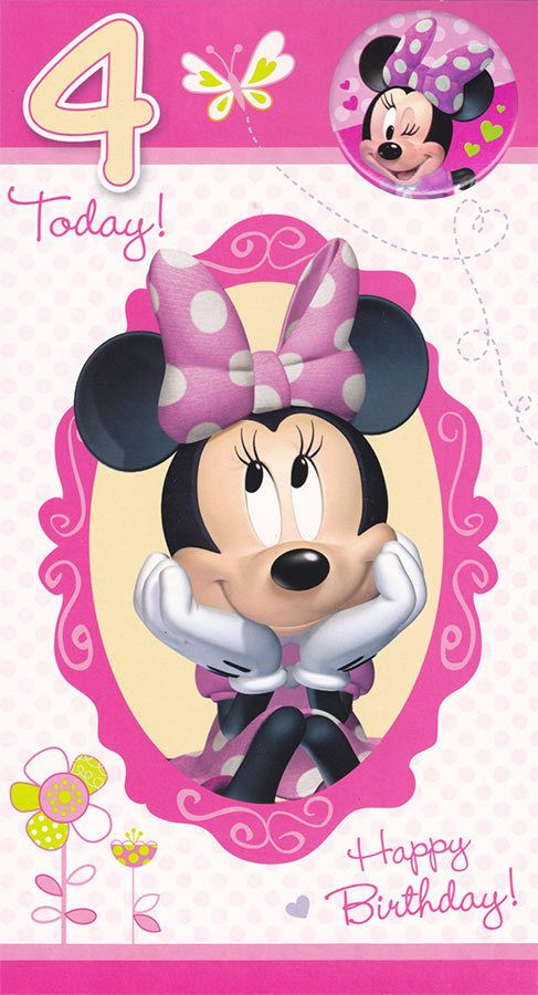 Minnie mouse happy 3rd birthday