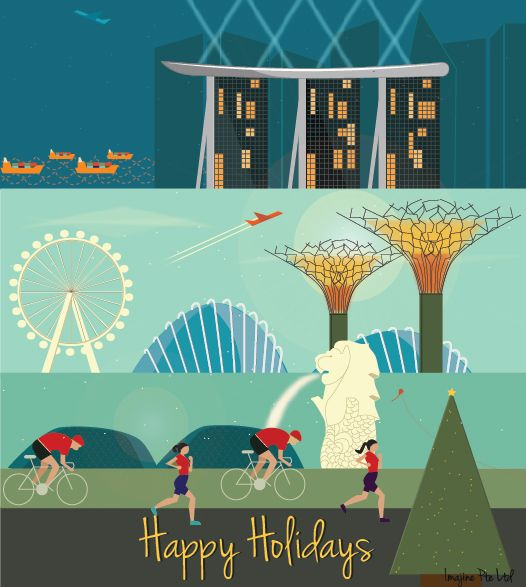 Holiday Card For Business And Family. (With Images