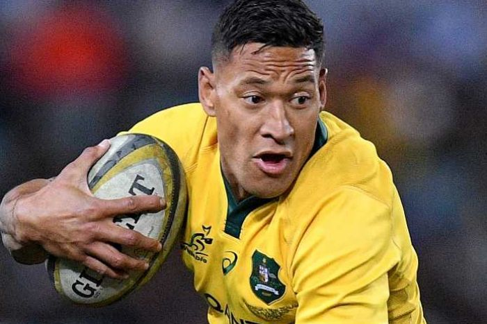 Israel Folau To Challenge Breach Notice Over Controversial