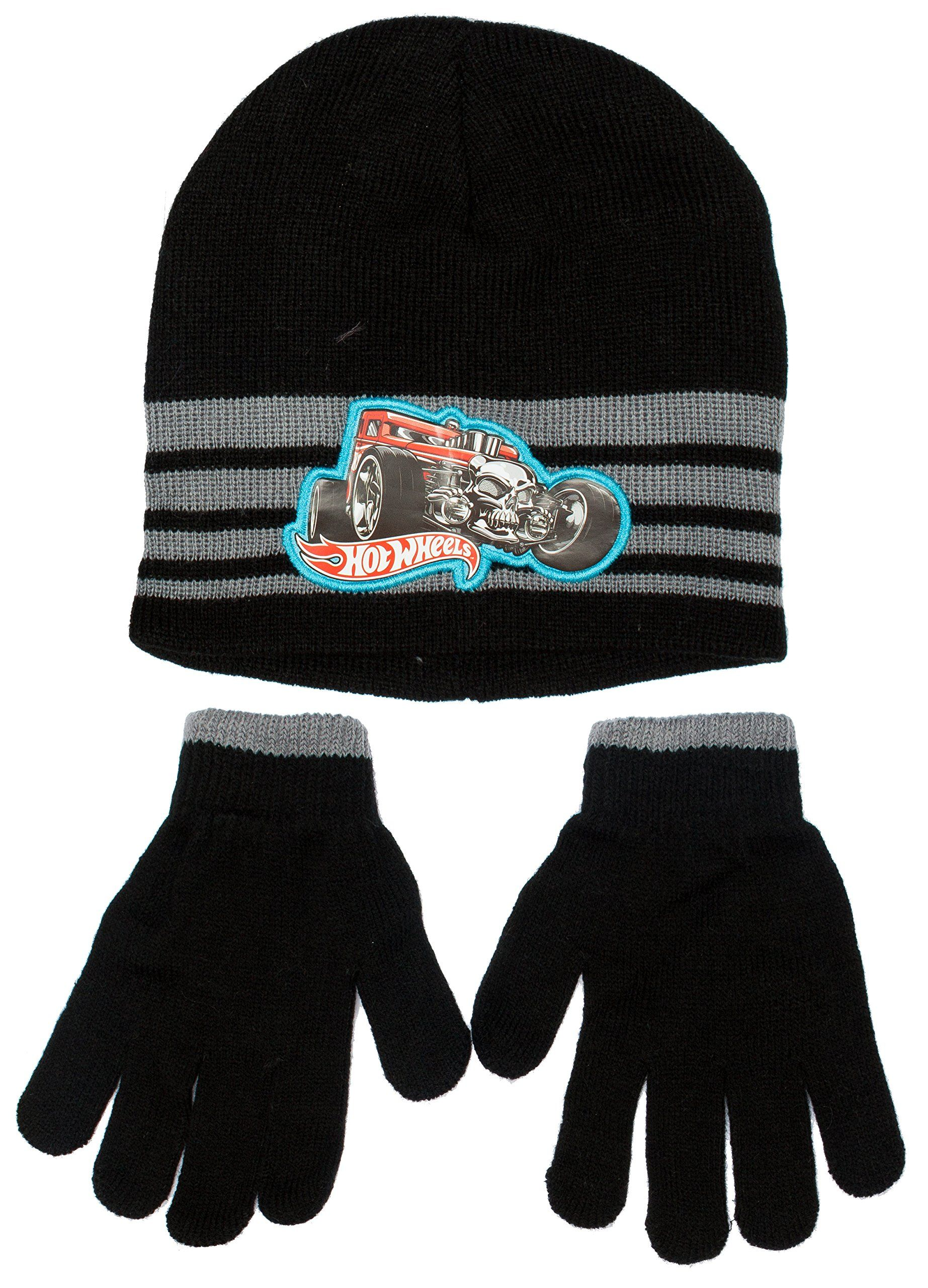 65883b9f6f4 Mattel Hot Wheels Winter Beanie Hat and Gloves Set