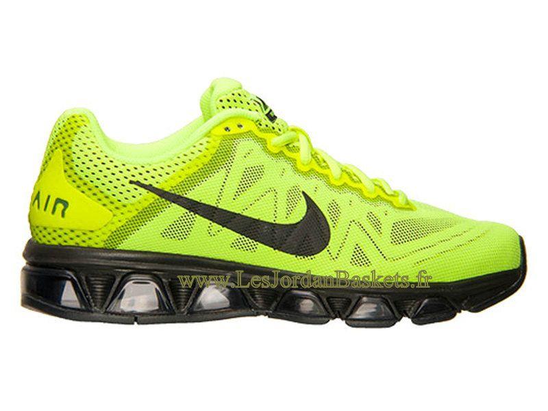 9ff1443ba80 Officiel Nike Air Max Tailwind 7 Chaussures de Running Pour Homme Volt Noir Anthracite  683632 700