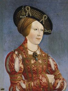 Hans Maler  Portrait of Anne of Hungary and Bohemia  1519