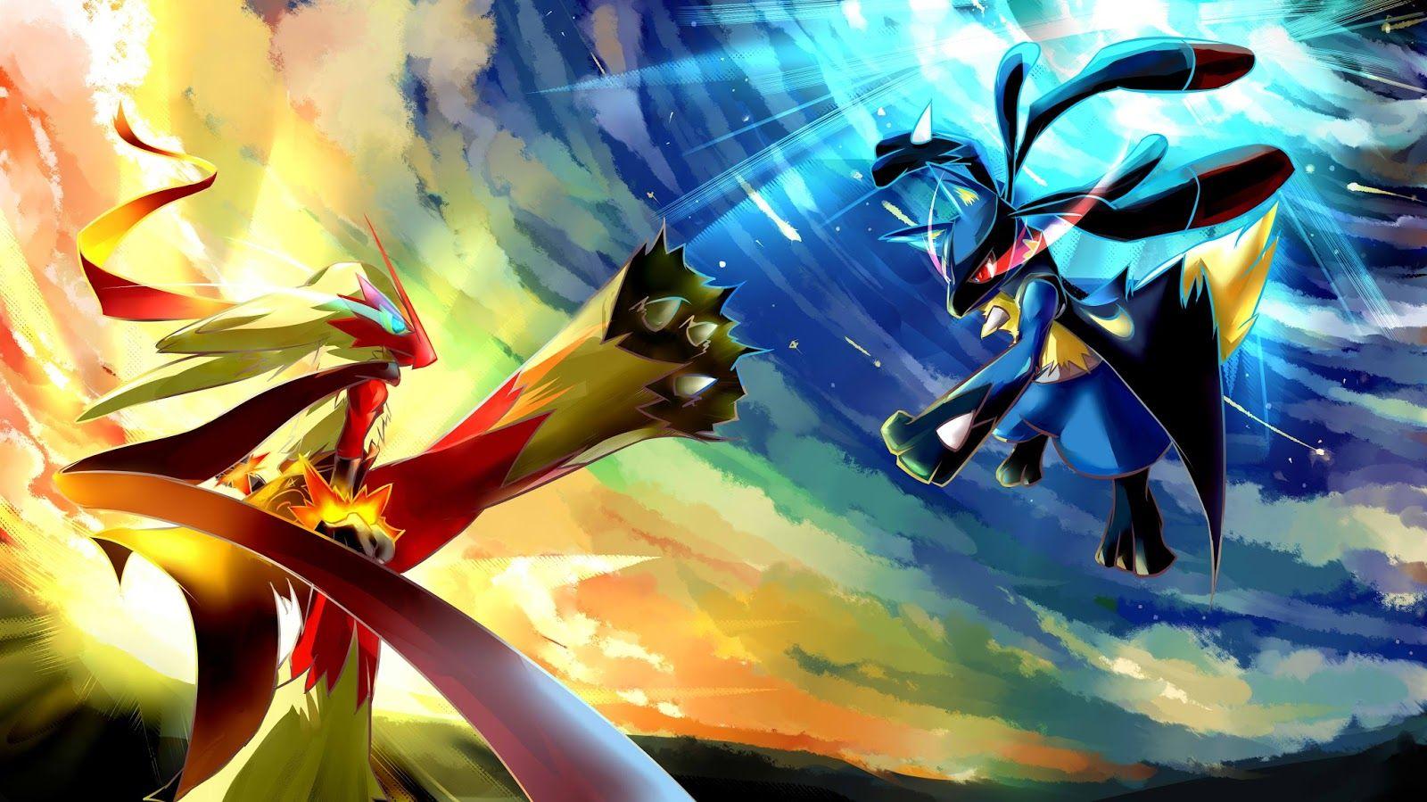 Lucario vs Brasegali, Pokemon