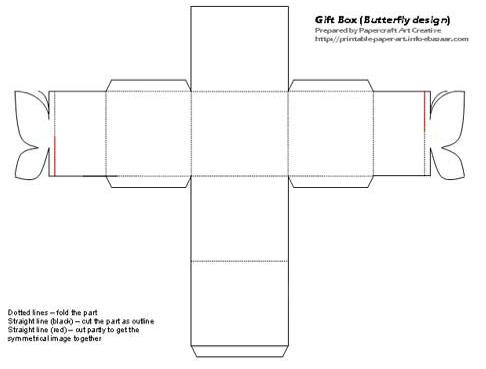 Cajas imprimibles con cierre de mariposa. | manualidades de papel ...