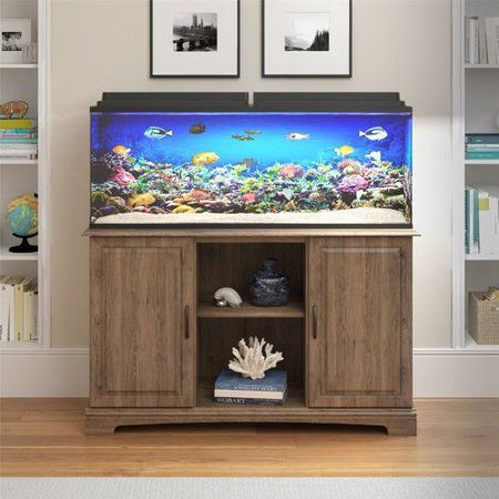 Charlton Home Wilton 75 Gallon Aquarium Stand - Walmart com | Fish