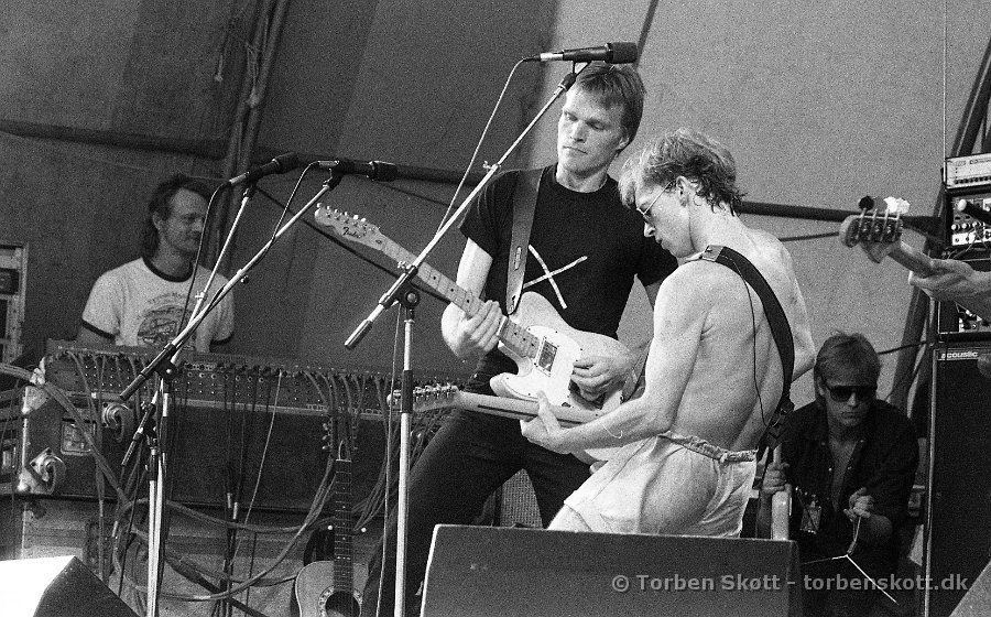 Gnags DKU Festival 18 - 19 Juni 1983 Moesgård, Århus,Denmark