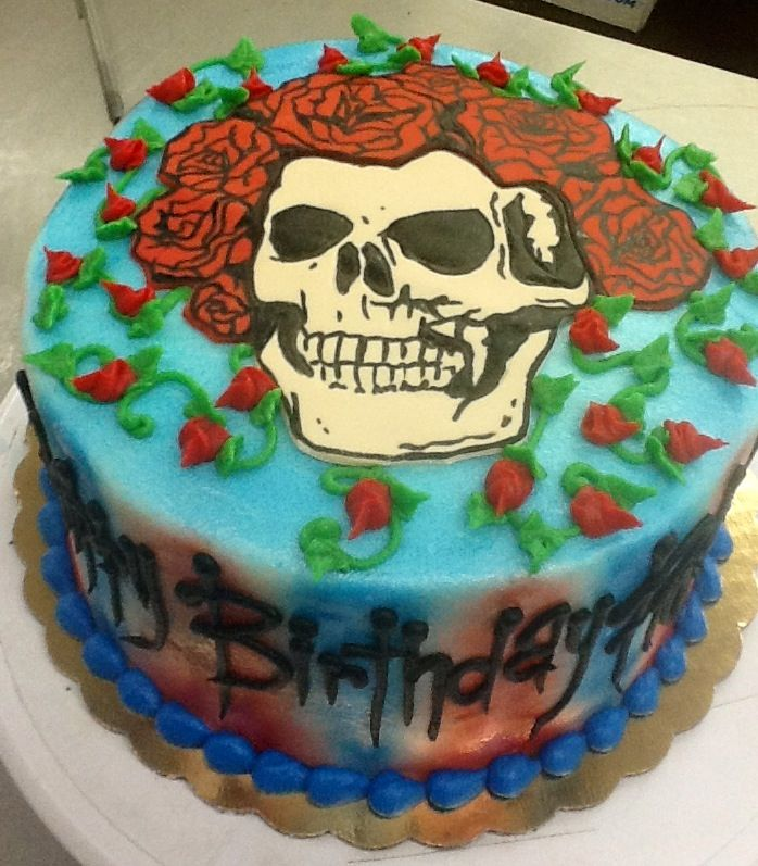 Grateful Dead Cake at Sweet Boutique Cakes | Cake Witch | Bithday ...