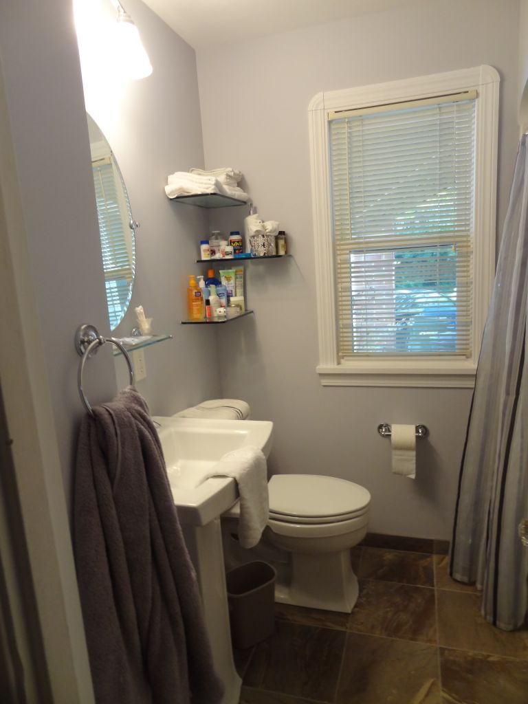 remodeling a very small bathroom with no