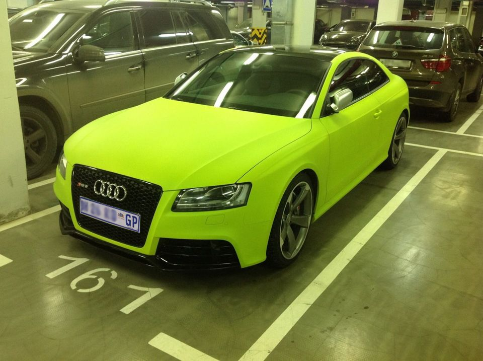 Audi S8 Lime Green Wrapped Classy Cars Lime Green Audi Cars