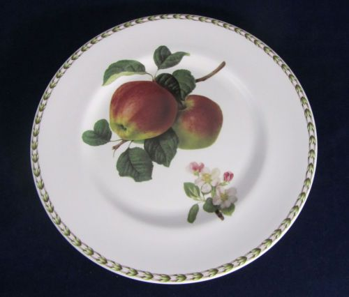 Dinnerware & Queens China Hookers Fine Bone China Fruit Pattern Apple Dinner ...