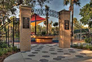 Freedom Playground At Macfarlane Park Tampa House Styles Playground Outdoor Decor
