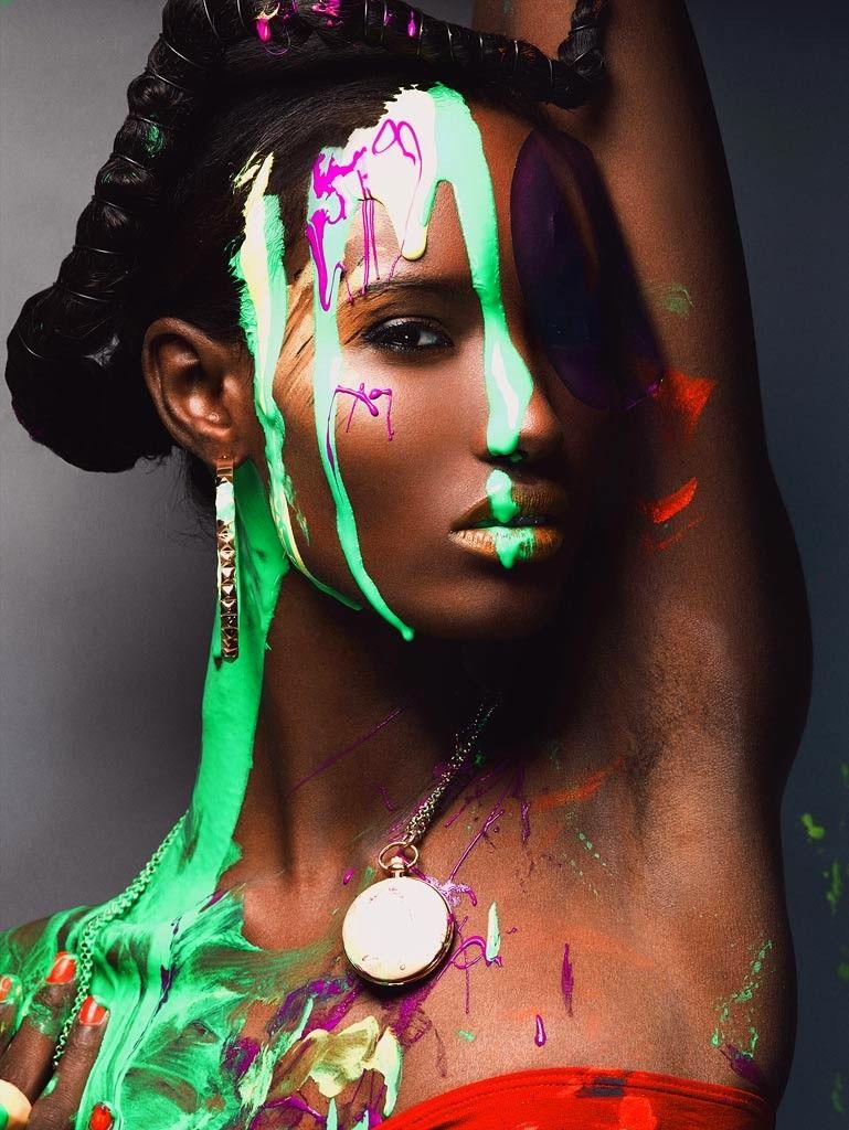 Somalian beauty Fatima Siad - brought to you by American's Next Top Model. #blackbeauty