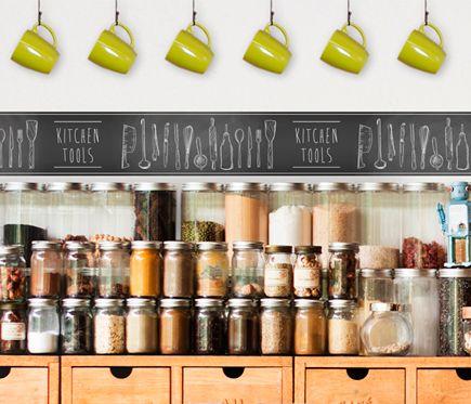 Cenefa De Papel Para Cocinas Kitchen Tools Leroy Merlin Papel De Cocina Cenefa Cocinas Kitchen