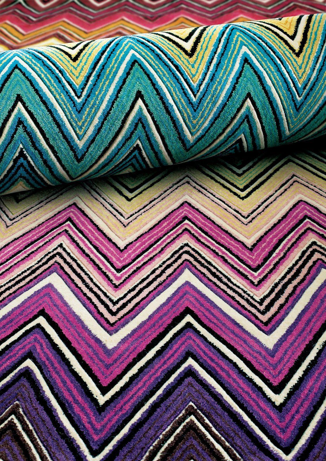 Missoni Rug Eclectic Rugs Rugs On Carpet Modern Rugs