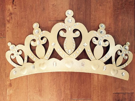 Princess Baby crib bed canopy crown wall art wakeup sweet pea bed crown above the bed princes canopy large valance rounded shabby chic & Princess Baby crib bed canopy crown wall art wakeup sweet pea ...