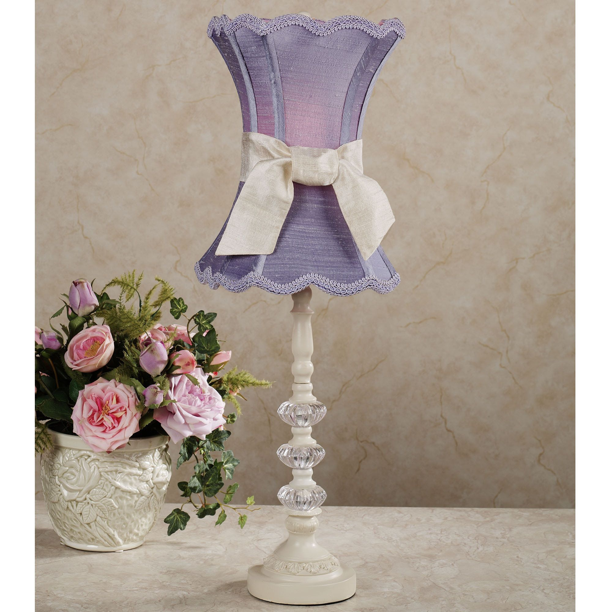 Rosalynn Lavender Table Lamp