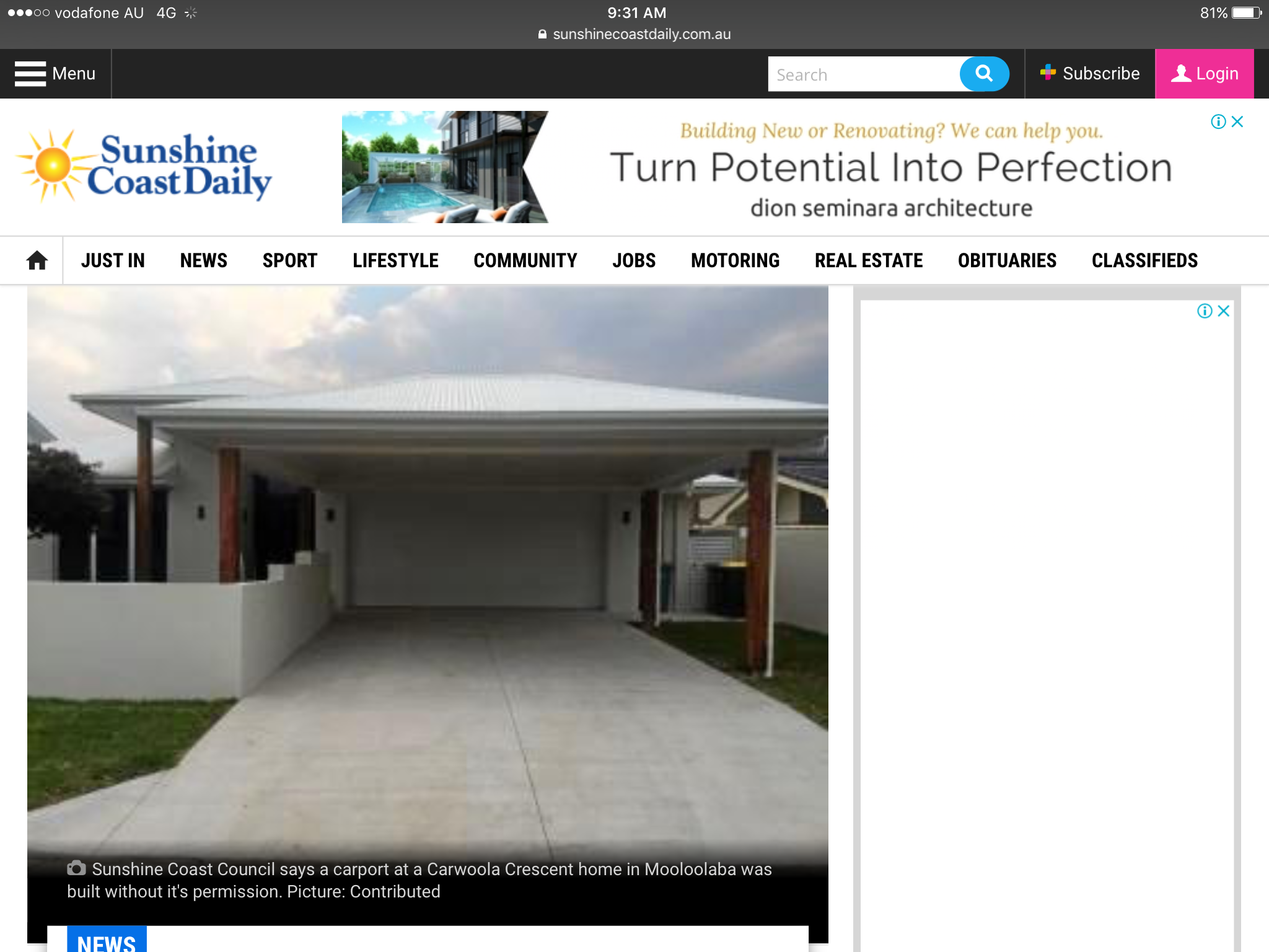 Pin by Mel w on Carports Architecture, Community jobs