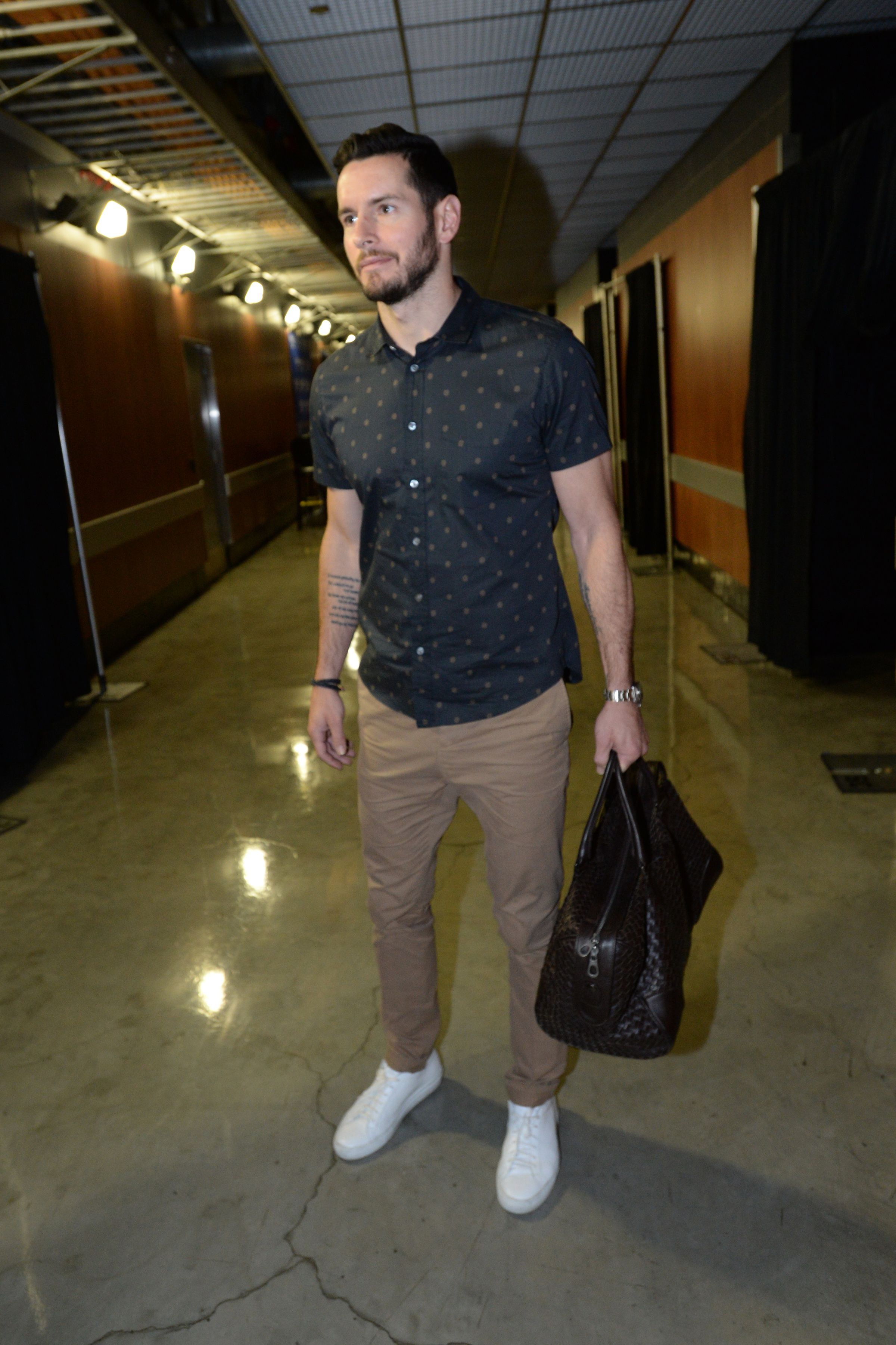 uk availability c5cf9 37f7f J.J. Redick with a clean button-up. | Clippers Have Style ...