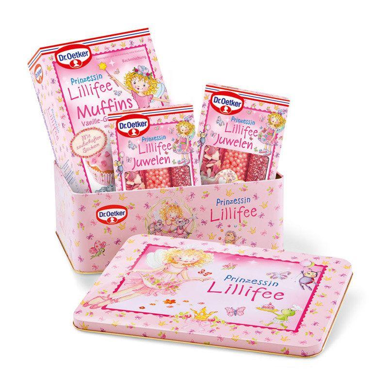 Prinzessinnen Muffins Rezept Kindergeburtstag Lillifee Knetteig