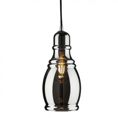 Lámpara de techo cristal ahumado brillo o claro. Diseño ...