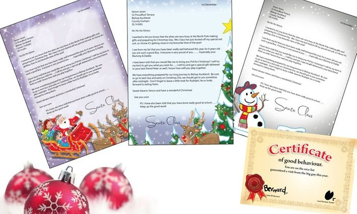 Santa Letters Direct Deal of the Day   Groupon