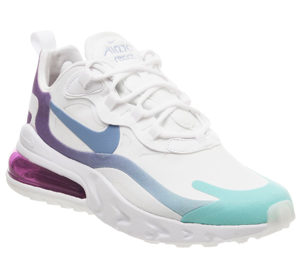 Air Max 270 React Trainers With Images Air Max 270 Nike Air
