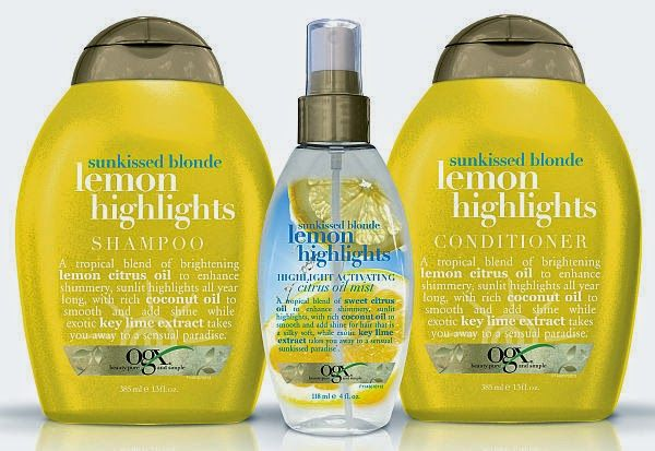 August 20th is National Lemonade Day, so celebrate with OGX Sun-kissed Blonde Lemon Highlights!