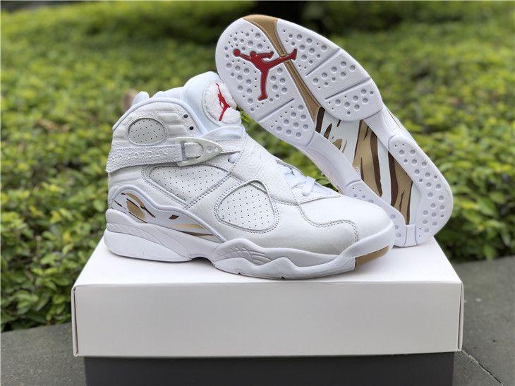 "Air Jordan 8 Retro OVO ""OVO - White"" in"