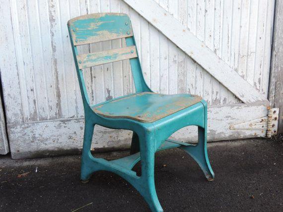 mid century school chair vintage elementary school child s chair