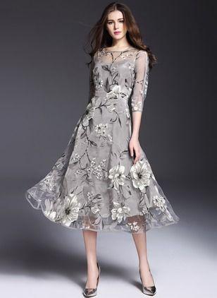 64e1cd8a9b0 Cotton Blends Character Short Sleeve Mini Casual Dresses (1031932)    floryday.com