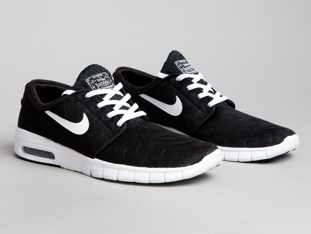nike sb stefan janoski max black and white. Black Bedroom Furniture Sets. Home Design Ideas