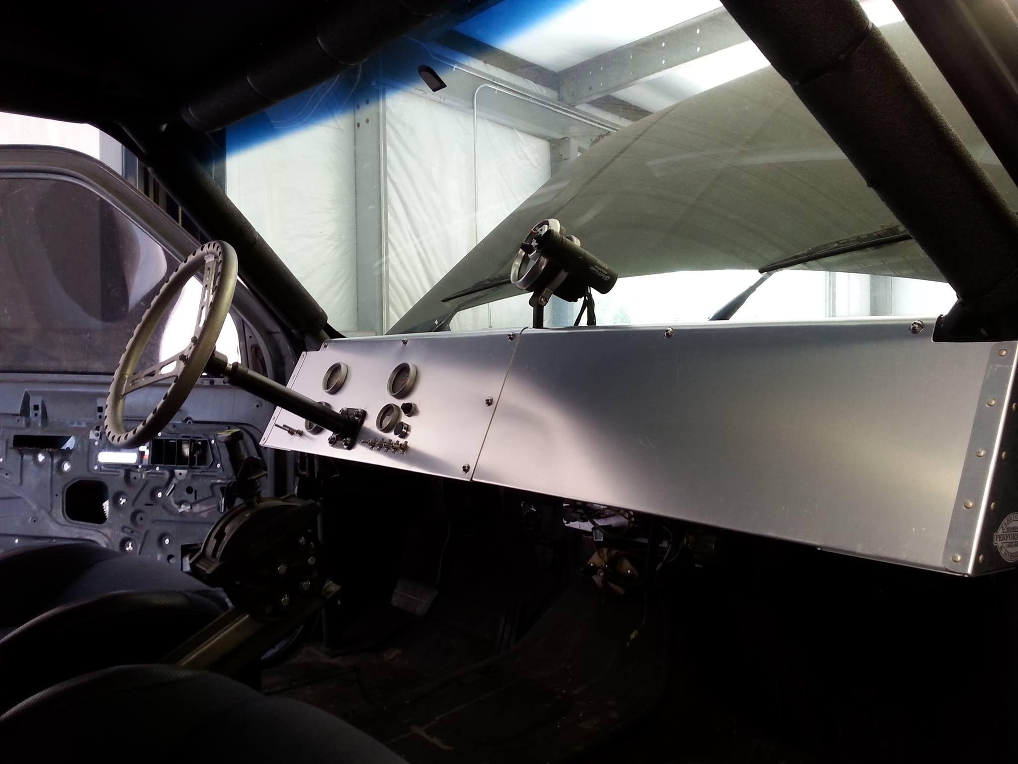 Chevy Truck aluminum dash. Sheet Metal Chevy trucks