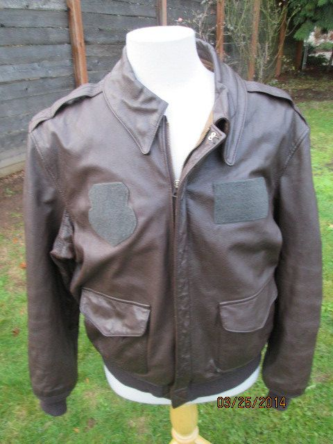 Vintage Saddlery Cooper A2 Brown Bomber Flight By Simplemiles