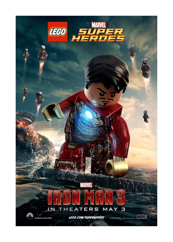 Yes, I'm a geek when it comes to Iron Man!! Download these fun Lego inspired Iron Man 3 posters on the blog today!