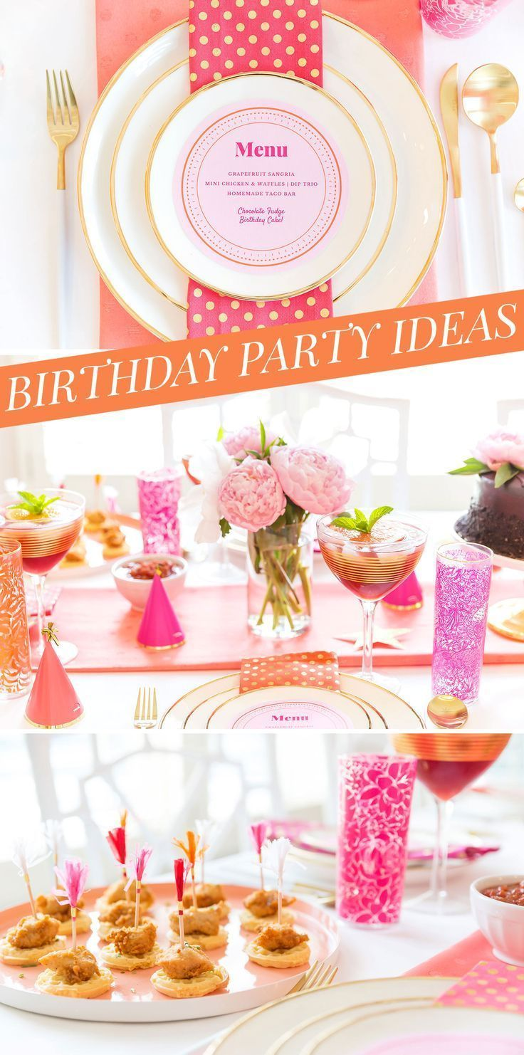 Adult Birthday Party Ideas For the Girls! Adult