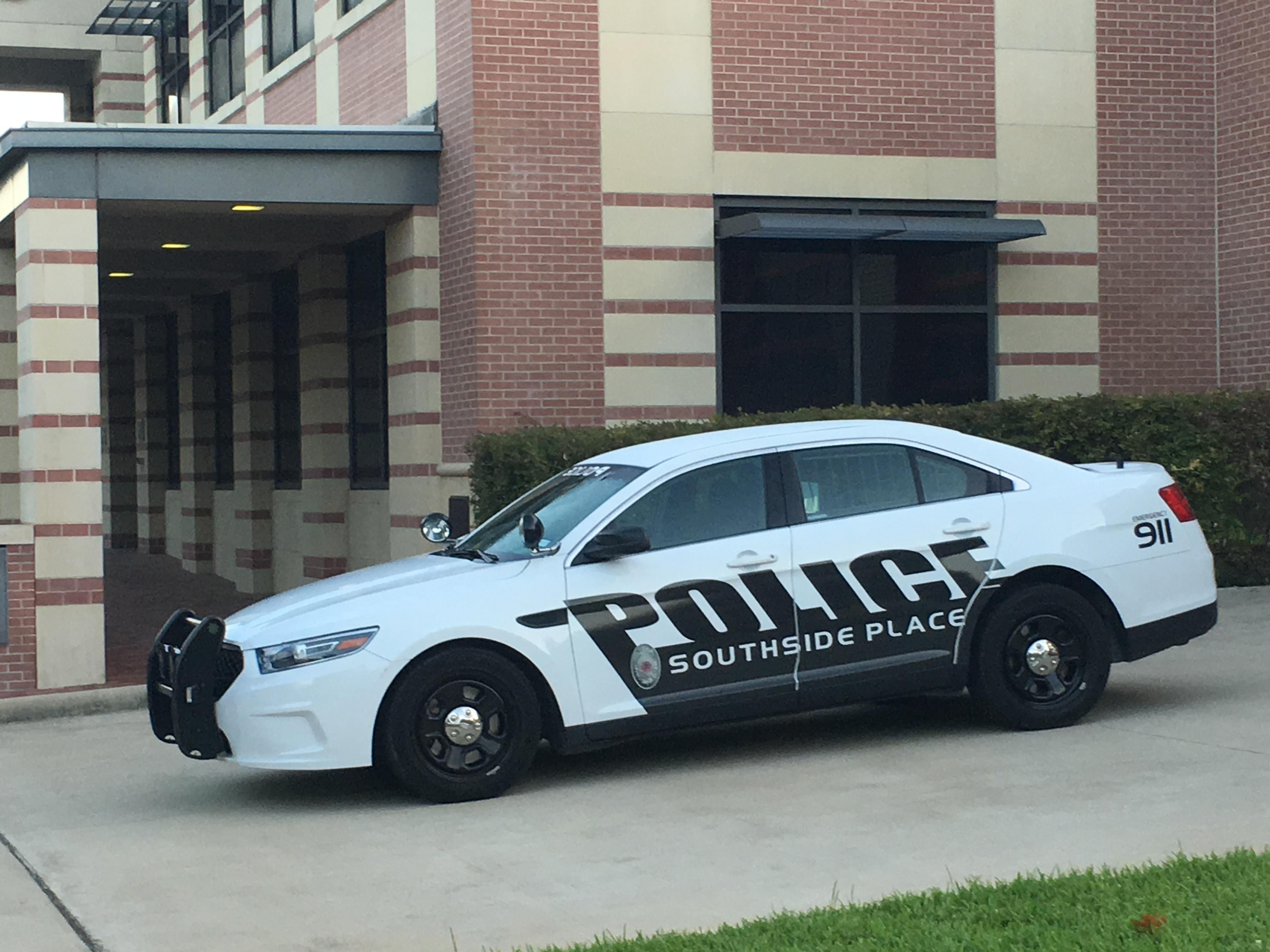 Southside Place Police Department Ford Interceptor Texas Police Cars Ford Police Us Police Car