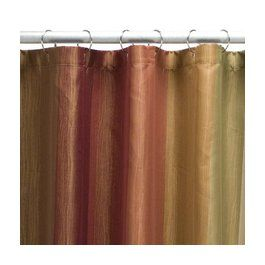 Red Orange Gold Shower Curtain Target Com Striped Shower