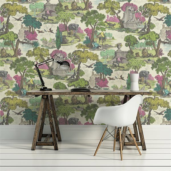 Cole Son Versailles Grand Wallpaper Pink 99 16064 Cole And Son