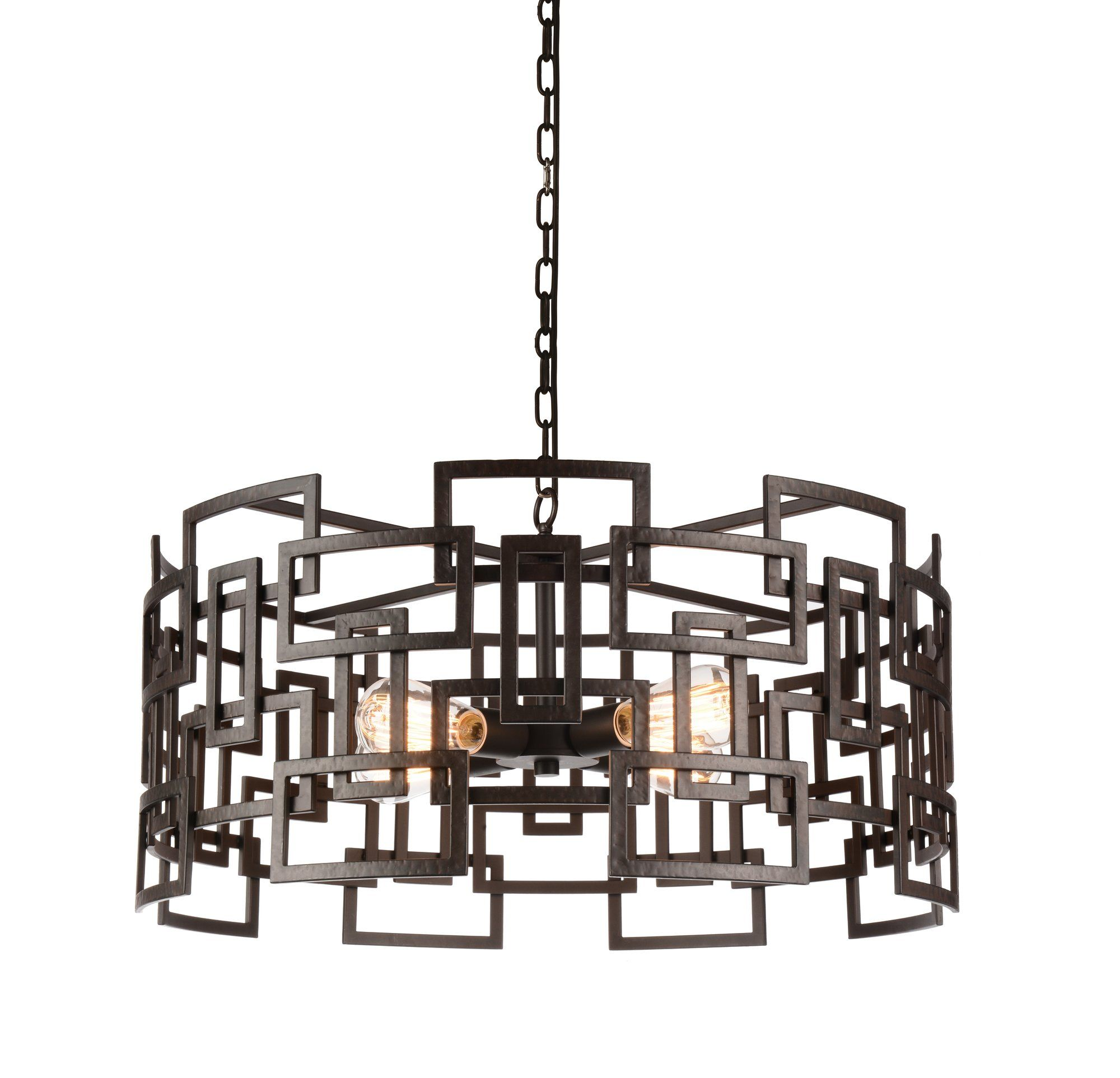 Litani 4 Light Geometric Pendant