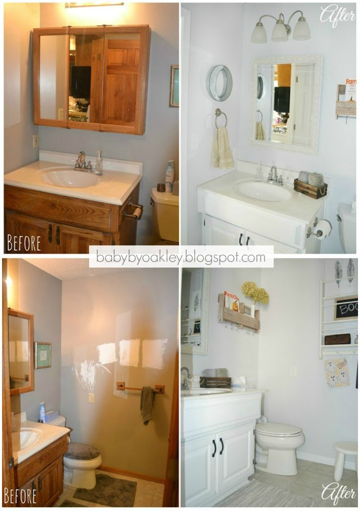 DIY Half Bathroom Redo
