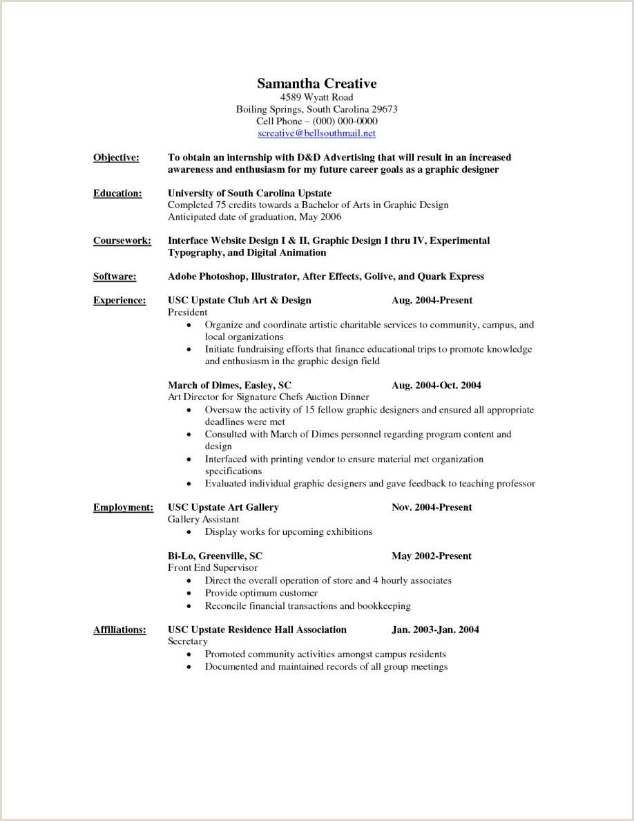 Resume format for Hotel Job Fresher in 2020 Graphic