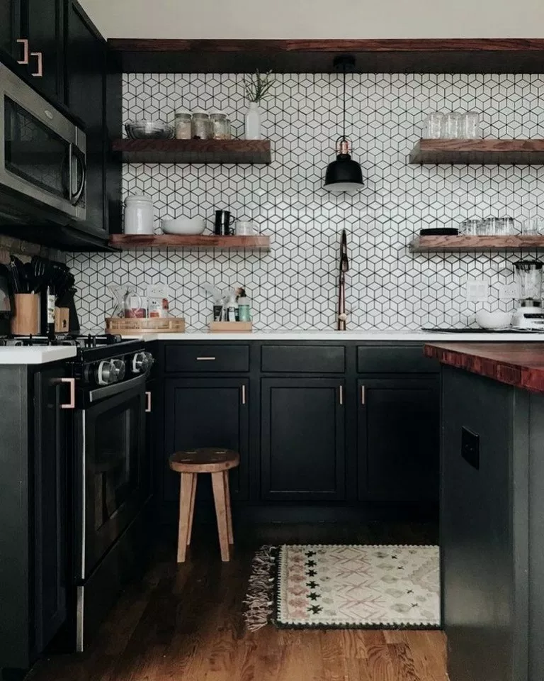 29 Stunning Black White Kitchen Decor Ideas Stunningkitchen
